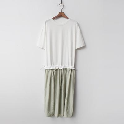 Combo String Long Dress
