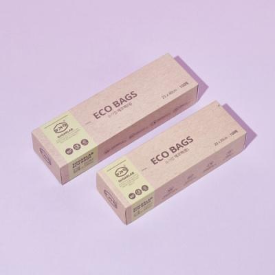 슈가랩 친환경 에코백 위생봉투 비닐 100매 대/중