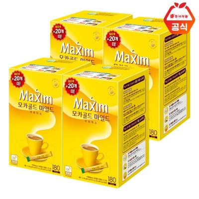 맥심 모카골드 마일드 720T (180T 4개) / 대용량 커피
