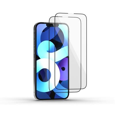 아이폰 13, 13pro 디펜드 풀커버 강화 유리 필름 2매