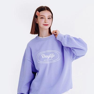 데이라이프 로고 스웨트 셔츠 (라이트 블루)