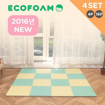 [에코폼]2016년 어린이제품 보호법 KC인증 맘편한매트 4세트/층간소음방지/퍼즐매트/놀이방매트