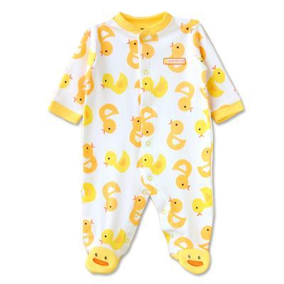 아기오리가 가득한 발싸개 우주복(0-12개월) 300149