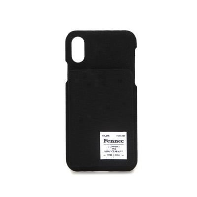 FENNEC C&S iPHONE X/XS POCKET CASE - BLACK