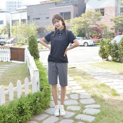 [빅사이즈] 스판 진그레이 교복 반바지(여자) ~6XL