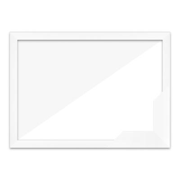 퍼즐액자 17.5x43.5 고급형 슬림 우드 화이트