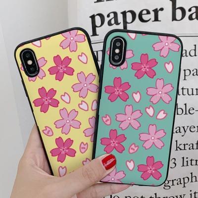 아이폰7 써니 벚꽃 카드케이스