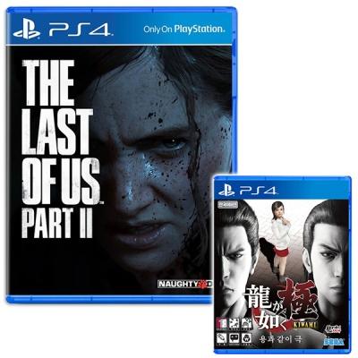 PS4 더 라스트오브어스 파트2 + 용과같이극 (더블팩)