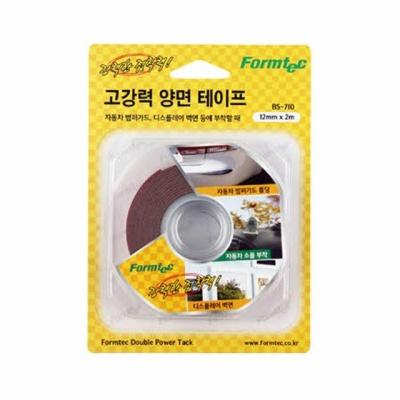 BS 710 고강력 양면 테이프 (회색 12mmx2m 1ea)
