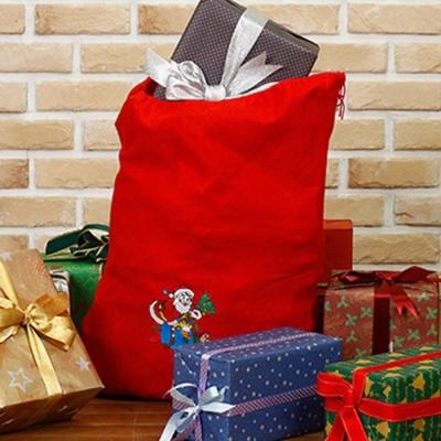 NEW 산타 선물보따리(48cmx60cm) 유치원 성탄절행사