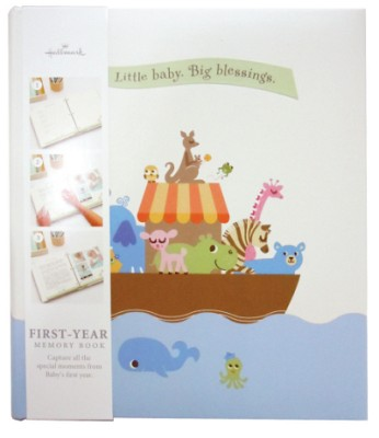 홀마크 3링 베이비 메모리북 First Year Baby (BBA3736) - 첫 돌까지