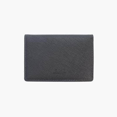 D.LAB Basic Leather Namecard wallet - Gray