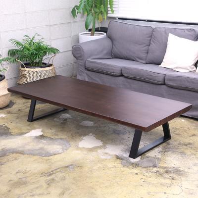 이홈데코 베어벨 원목 철제 테이블 1700
