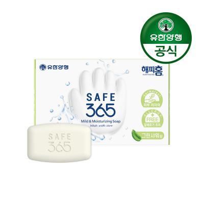 [유한양행]해피홈 SAFE365 비누 그린샤워향 (85gx1입)