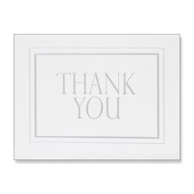 홀마크 감사 카드(SILVER2)-KED2132