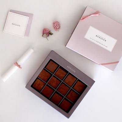 디비디 파베 초콜릿 박스 - Bonjour