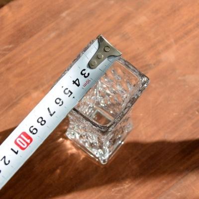 유리화분 화병 수반 크리스탈 긴사각 6x6x18cm