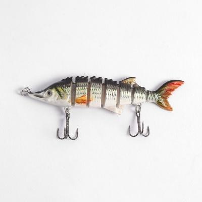 히트피싱 7단 관 절 루어(물고기A) 바다낚시 가짜미끼