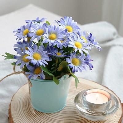 들꽃가득 양철통화분