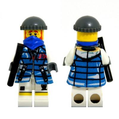 레고피규어의상 Leese Miniclothes M5 패딩점퍼