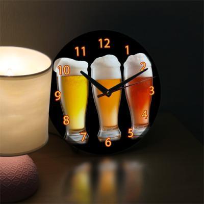 ng208-LED시계액자25R_가장맛있는맥주를찾아라