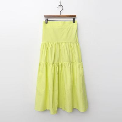 Cotton Cancan Long Skirt
