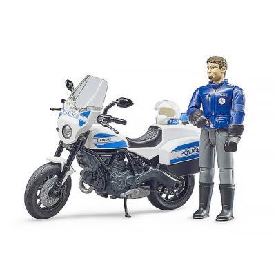 B월드 두카티 경찰 오토바이