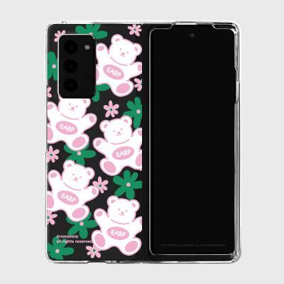 FLOWER BABA-PINK/GREEN(Z폴드2-클리어하드)