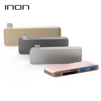아이논 USB 3.0 C타입 5in1 멀티허브 맥북 IN-UC410C