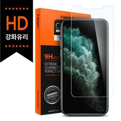 슈피겐 아이폰11 강화유리 글라스TR슬림 HD