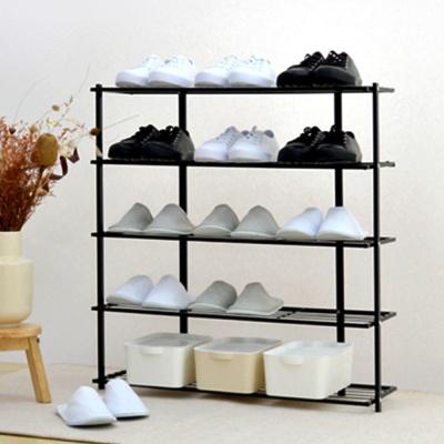 신발정리대 다용도 철제 선반 실내화 슬리퍼 정리선반