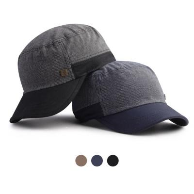 [디꾸보]배색 바이저 캡 군모 모자 DCH-HN648