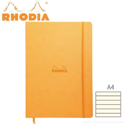 [로디아] 웹노트 A4 오렌지 (줄지)