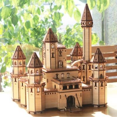 3D입체퍼즐 Fairy Tale Castle (건축물)(목재모형)(퍼