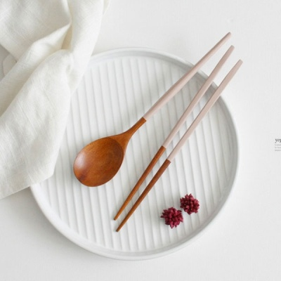 [2HOT] 밀키우드 옻칠 수저세트 (컬러)