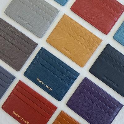 [이니셜 커스텀] Basic card wallet _ 13 Color