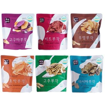 부각(다시마+호박+고추+우엉+고구마+비트)x각30g