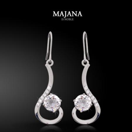 F01.Quaestio cristal earring 귀걸이