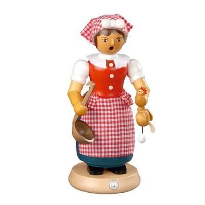 스모킹맨- 요리하는 여인, 24Cm