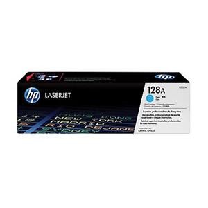 HP TONER CE321A(NO.128A) / Cyan / Color Laserjet CP1525/CM1415 / 1,300P
