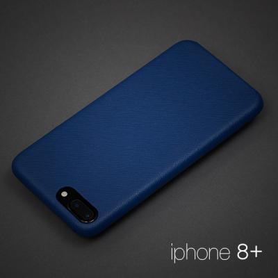 [매니퀸] 사피아노 스마트폰케이스 - 아이폰8+ 블루