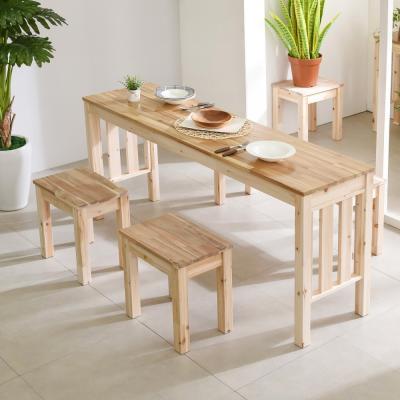 원목 긴테이블 홈바 1600사이즈(삼나무.아카시아)