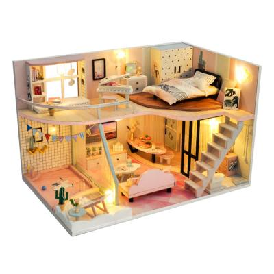 [adico]DIY 미니어처 하우스 - 핑크 메모리