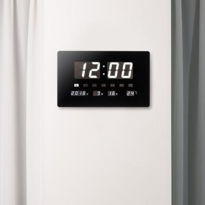 오리엔트 OT852W 화이트LED 슬림캘린더 디지털벽시계