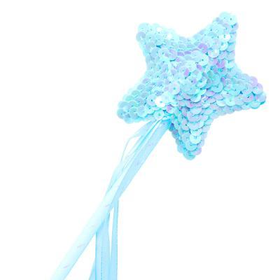 스팽글 별봉 (블루)