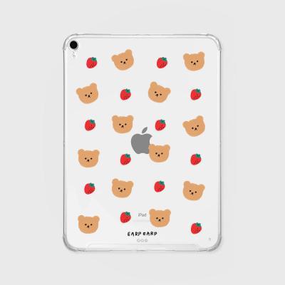 Dot strawberry bear(아이패드-투명)