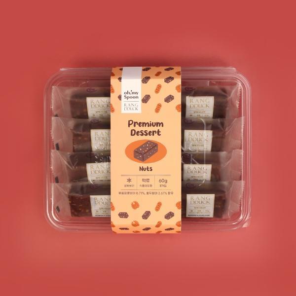오마이스푼 랑떡 더너츠 60g x 8개입/온가족 디저트