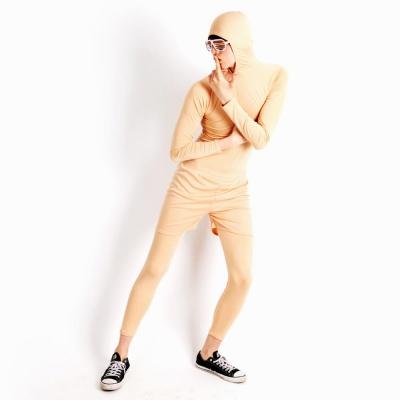 쫄쫄이의상 (반바지 포함) -살색