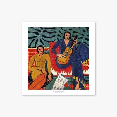 명화 포스터 갤러리 액자 050 Henri Matisse Music