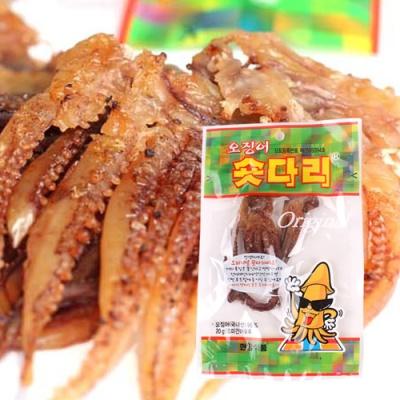 [의리있는오징어] 오징어 숏다리 20gx15팩